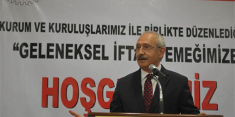 Kılıçdaroğlu iftarda