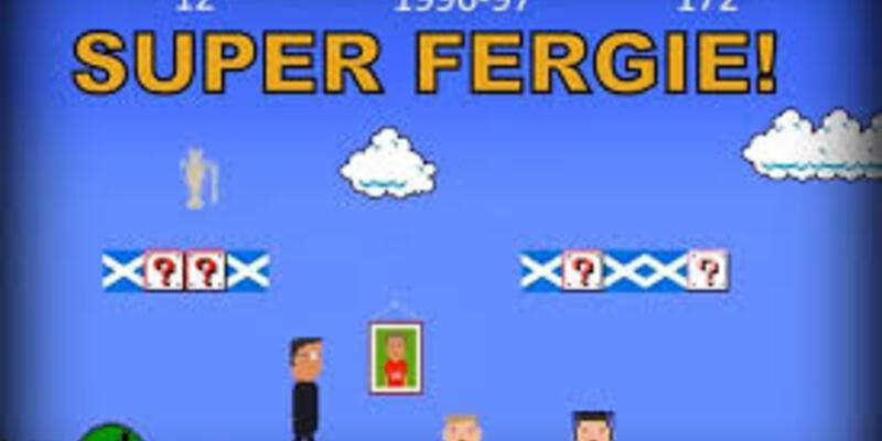 Alex Ferguson, Süper Mario'ya dönüştü