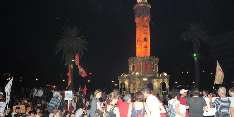 İzmir'deki Gezi gözaltıları adliyede