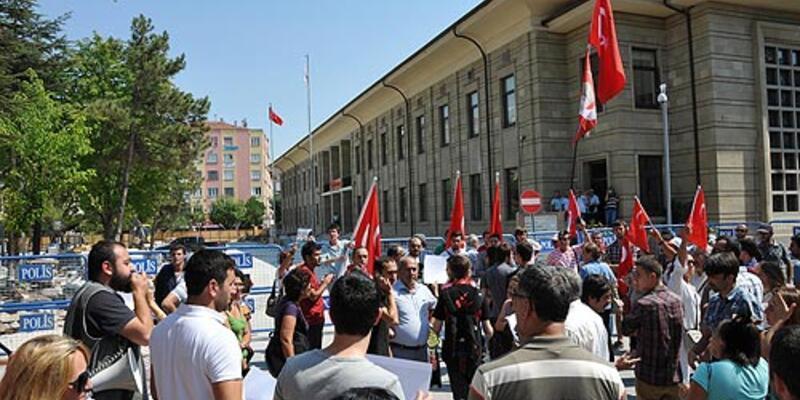 Eskişehir'de Ali İsmail Korkmaz eylemi