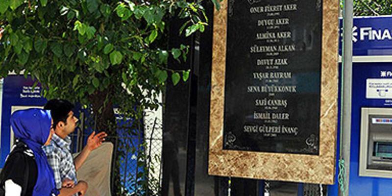 Gaziantep'te saldırıda ölenler, anıtta yaşayacak