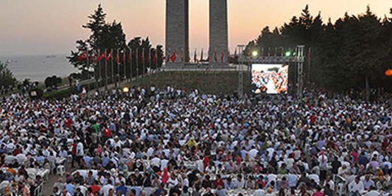Şehitler Abidesi'nde 5 bin kişilik iftar