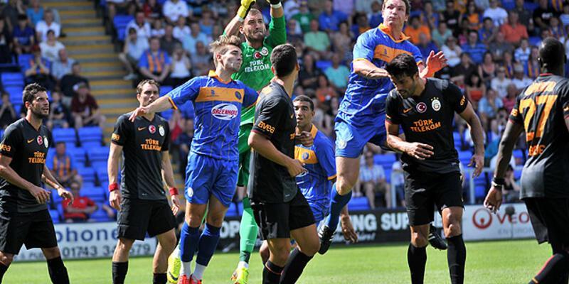 Shrewsbury Town - Galatasaray: 0-3