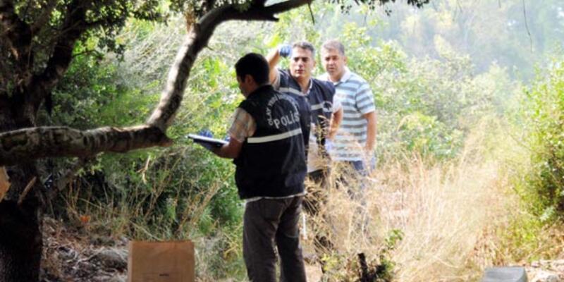 Antalya'da bir parkta el bombaları bulundu