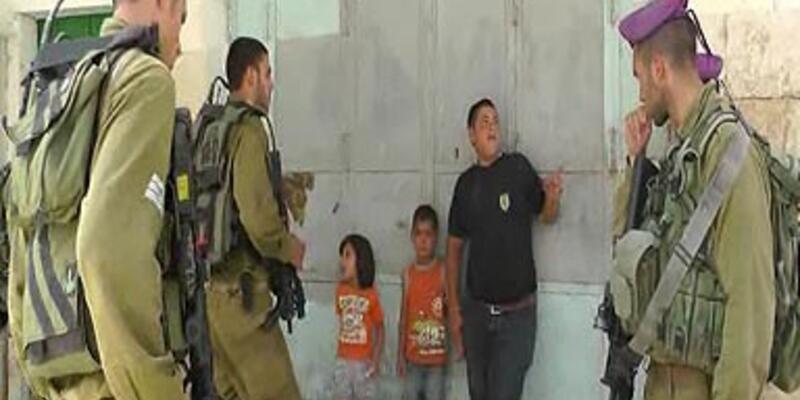İsrail askeri 5 yaşındaki çocuğu gözaltına aldı