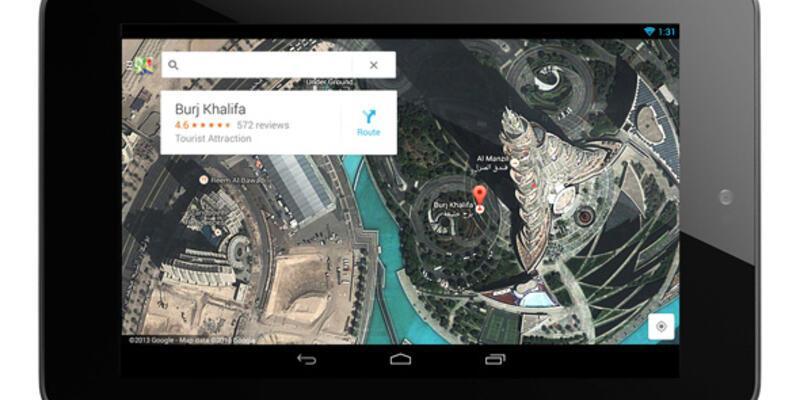 Google, yeni haritalar uygulamasını yayınladı