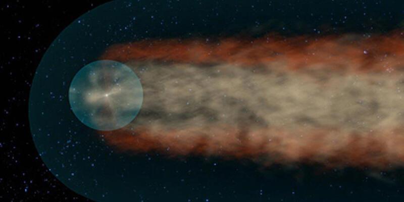 Güneş Sistemi'nin kuyruğu var!
