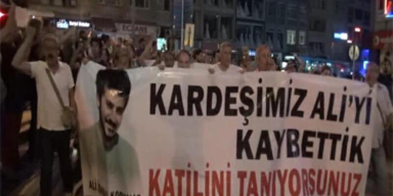 Kadıköy Ali için yürüdü