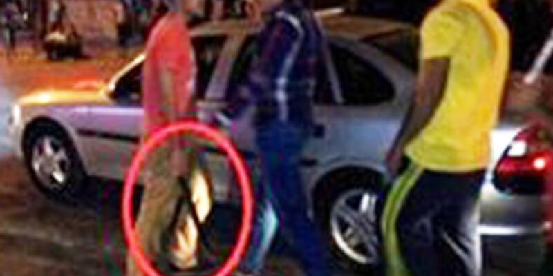 Ankara'da da palalı saldırgan...
