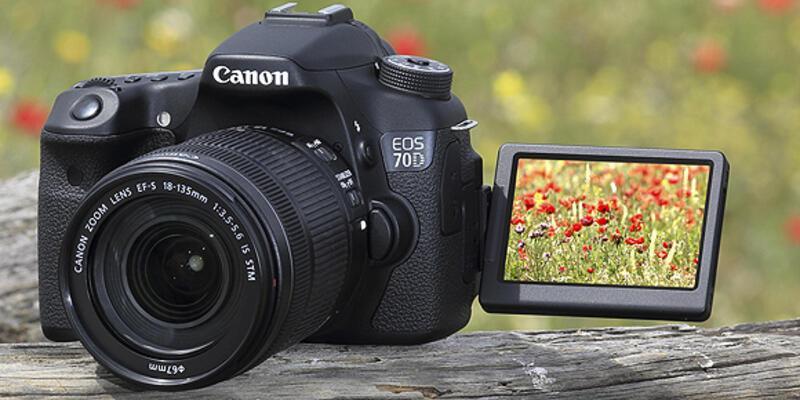 Ve karşınızda Canon EOS 70D
