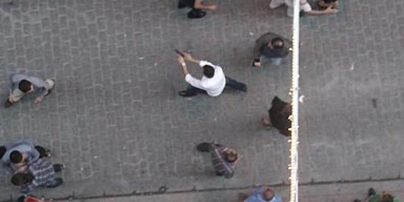 İstiklal'deki silahlı saldırgan tutuklandı