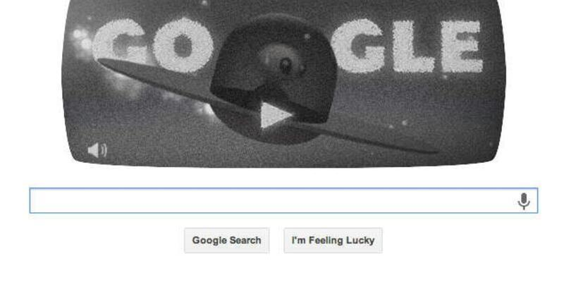 Google'dan UFO oyunlu doodle