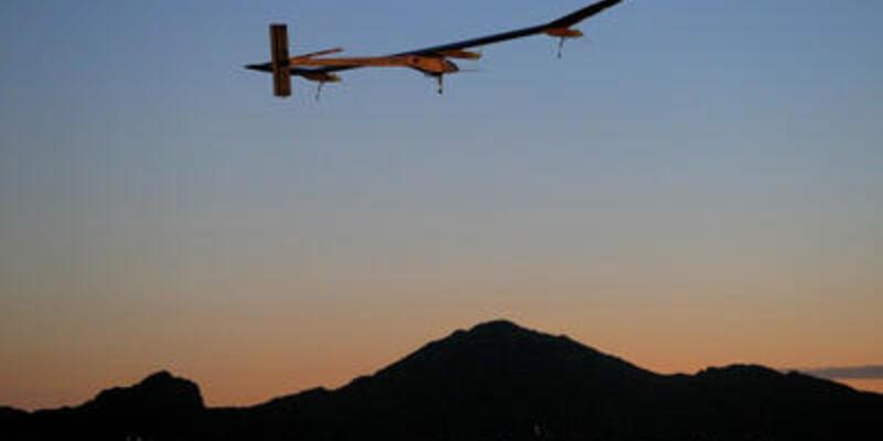 Güneş enerjili uçak ABD gezisini bitirdi