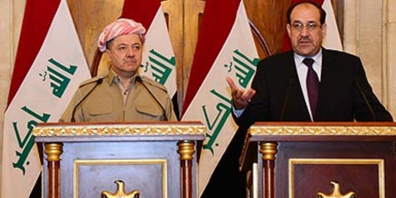 Bağdat'ta Maliki-Barzani zirvesi