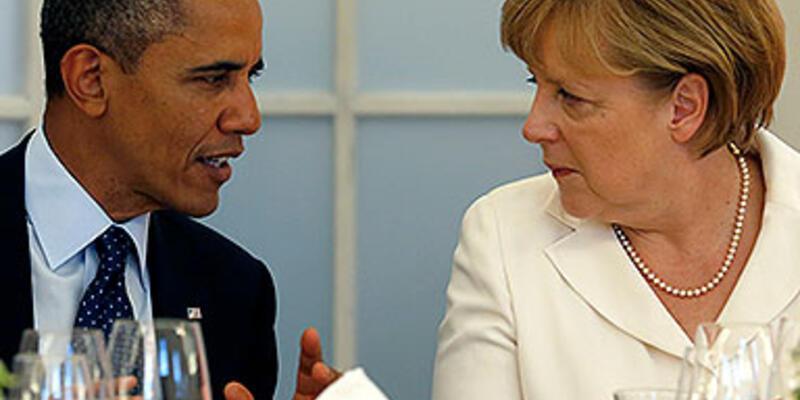 "Obama ve Merkel ""casusluk krizi""ni konuştu"