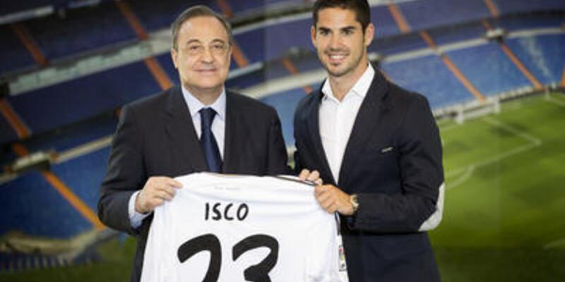 Real Madrid Isco'yu tanıttı