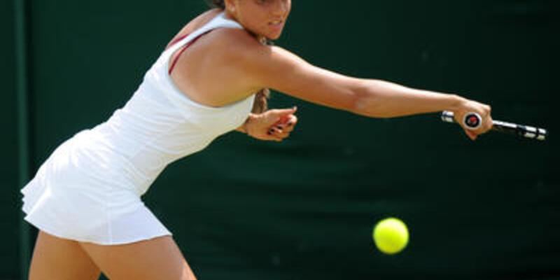 İpek Soylu Wimbledon'a veda etti