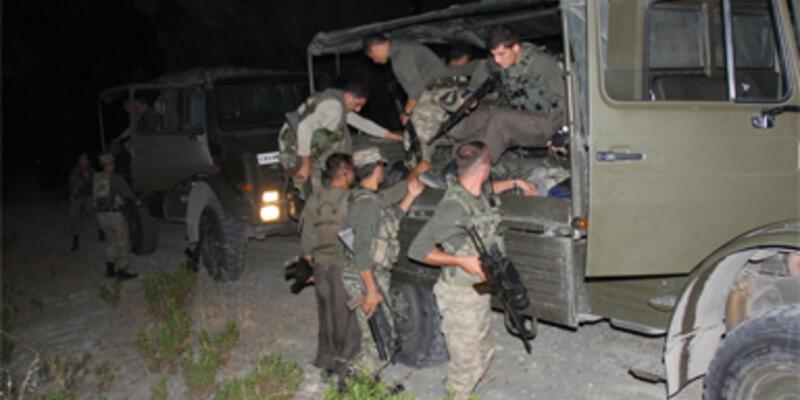Amanos Dağları'nda uyuşturucu operasyonu