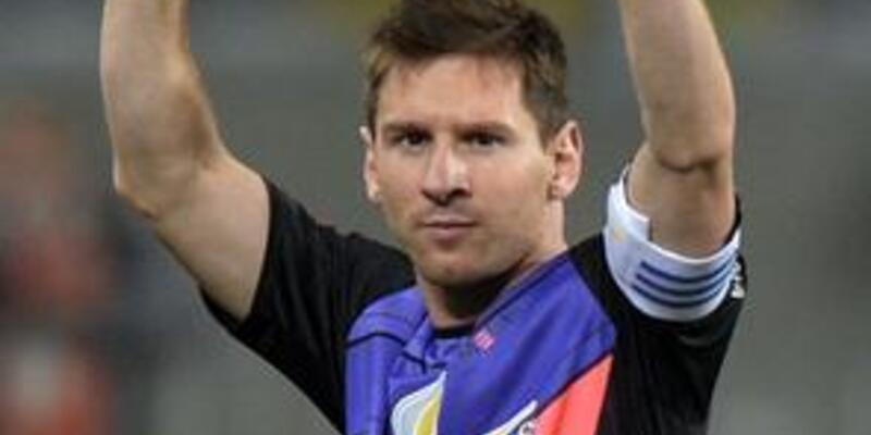 Messi yamuk yaptı!