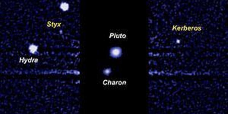 Plüton'un uydularına isim verildi