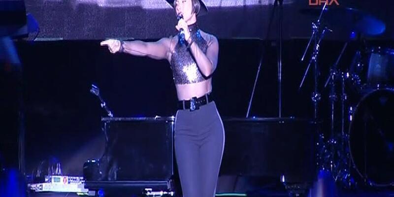 Alicia Keys'ten unutulmaz konser