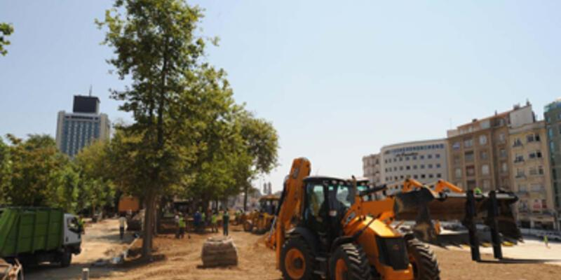 Taksim Gezi Parkı 8 bin metrekare büyüdü!