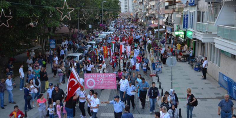 Silivri Yoğurt Festivali'ne 10 bin kişi katıldı