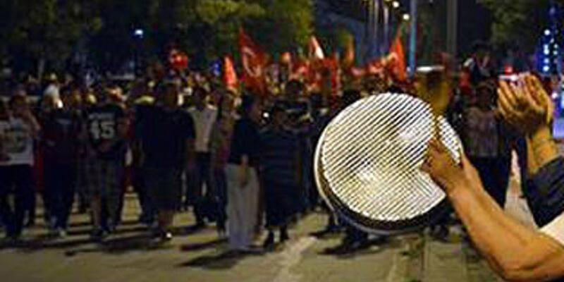 Tencere tava eylemine 'gürültü' cezası