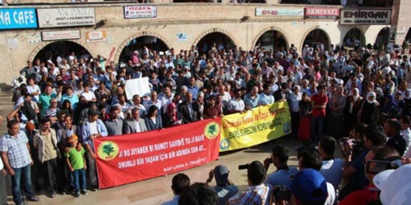 """Şanlıurfa'da """"hükümet adım at"""" yürüyüşü"""