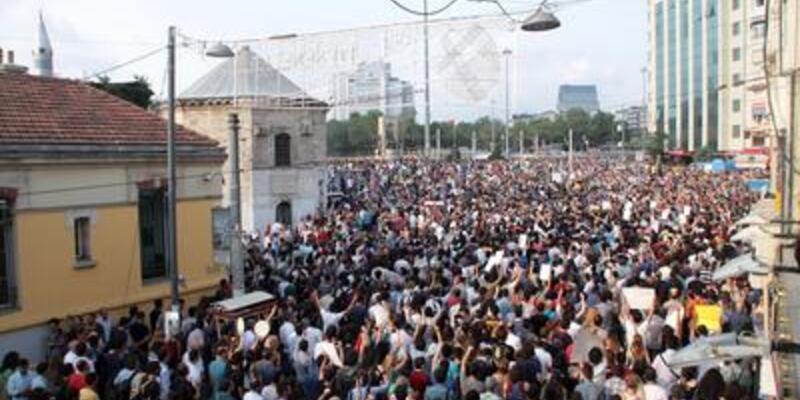 Taksim Platformu üyeleri kendilerini ihbar etti