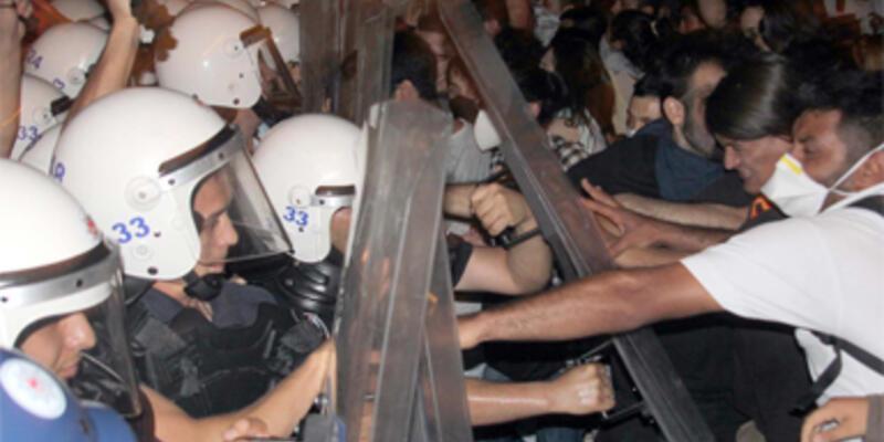 Mersin'de Gezi Parkı gerginliği: 17 yaralı