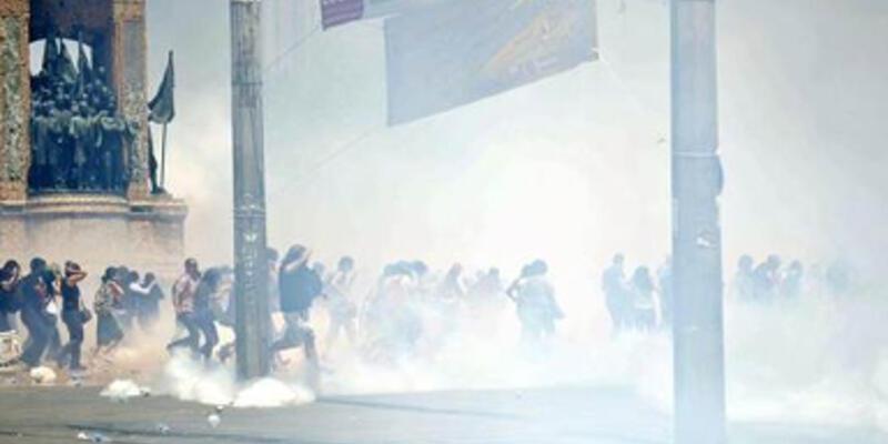 Polisin gazı bitti