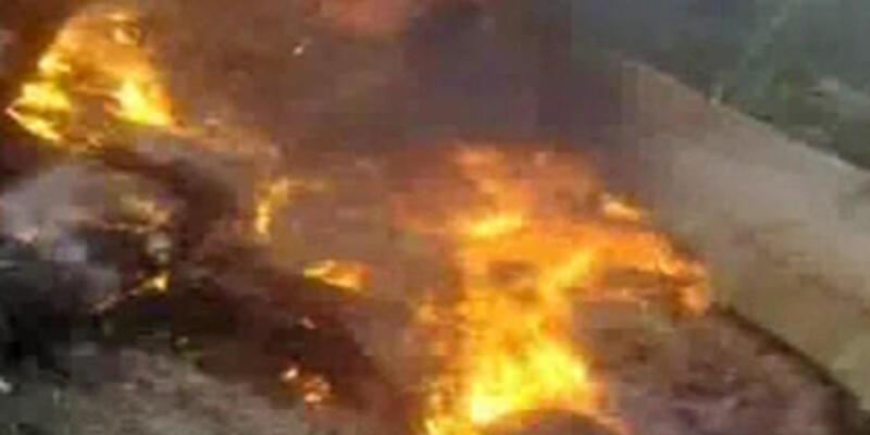 Cilvegözü'ndeki patlamadan saniyeler sonra