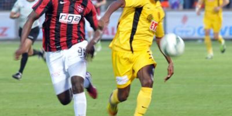 Gaziantepspor 2 golle kazandı