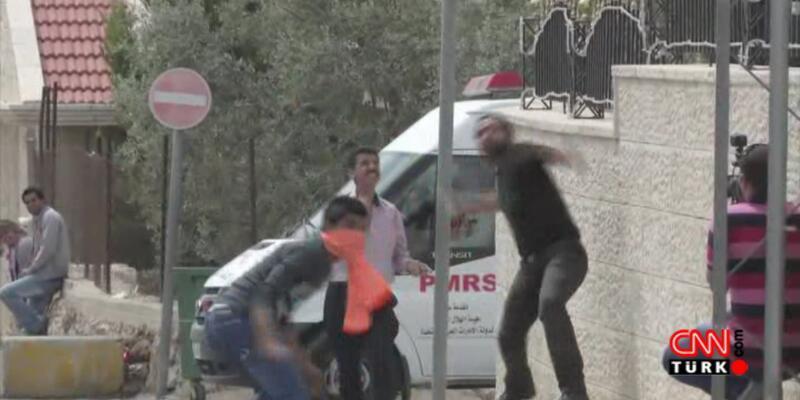 """""""Toprak Günü""""nde İsrail polisiyle çatıştılar"""
