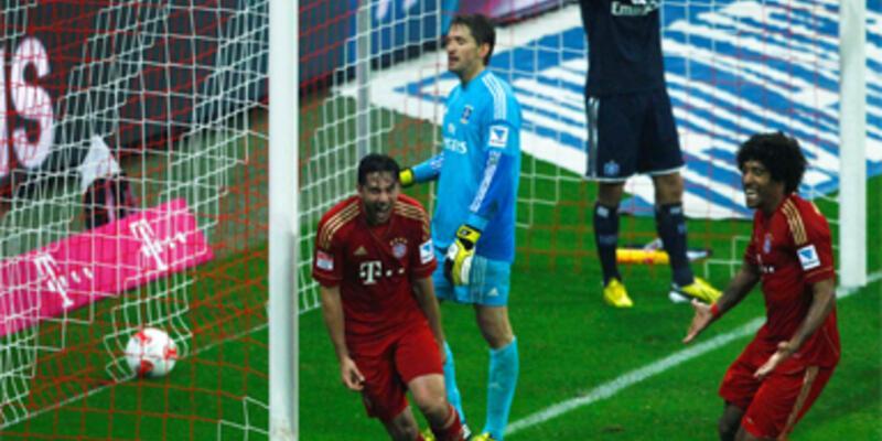 Bayern Münih Hamburg'a gol oldu yağdı!