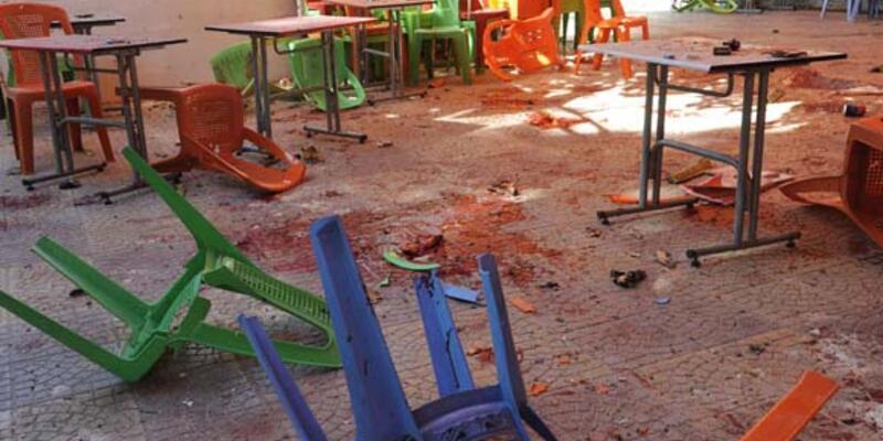 Şam'da üniversite kantini vuruldu