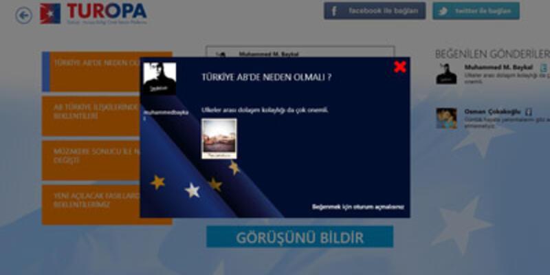 Türkiye-AB arasında sınırları kaldıran uygulama