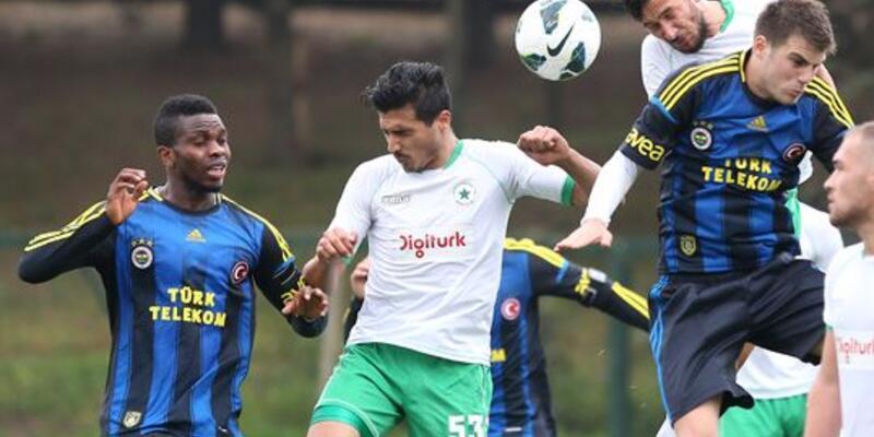 Fenerbahçe'den 6 gollü hazırlık maçı