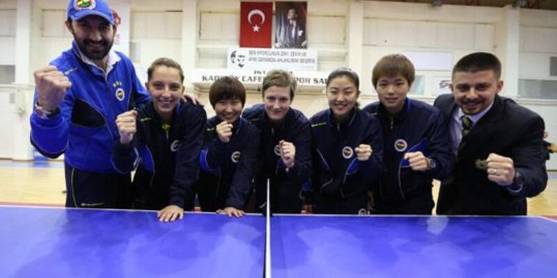 Fenerbahçe masa tenisinde de finalde