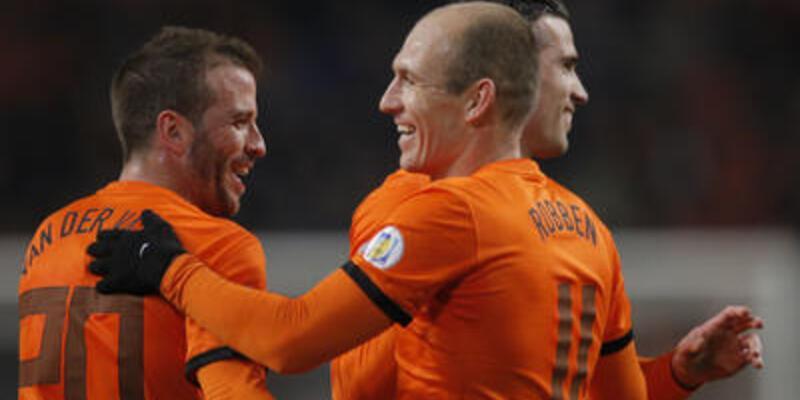 Hollanda - Estonya: 3-0