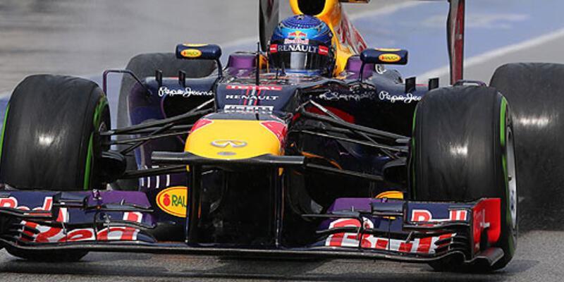 İlk cep Vettel'in
