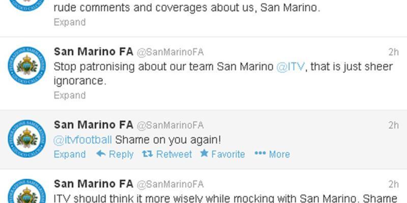 İngiliz kanalı San Marino'yu çıldırttı!