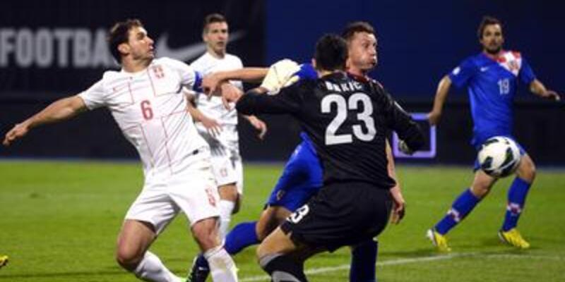 Çakır'ın yönettiği maçta Hırvatlar kazandı