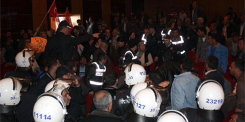 Çevrecilere polis müdahalesi