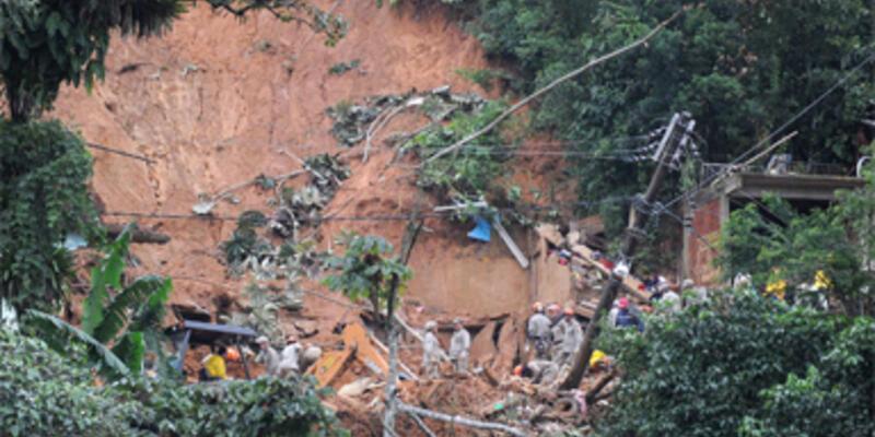 Brezilya'da toprak kayması:31 ölü