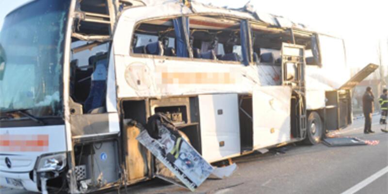 Uşak'ta trafik faciası: 7 ölü