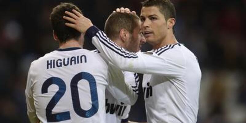 Real Madrid şov: 5-2