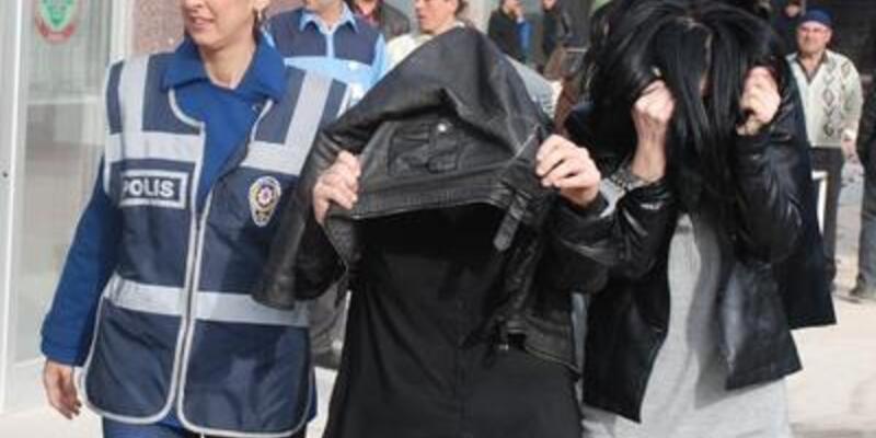 Konya'daki fuhuş operasyonunda 6 tutuklama