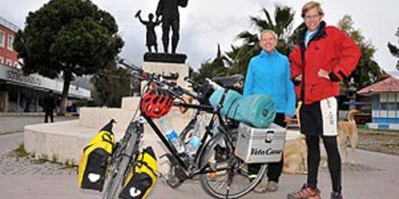 3 bin kilometre pedal çevirdiler!